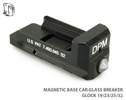 Glockuser - Magnetic Base Car Glass Breaker